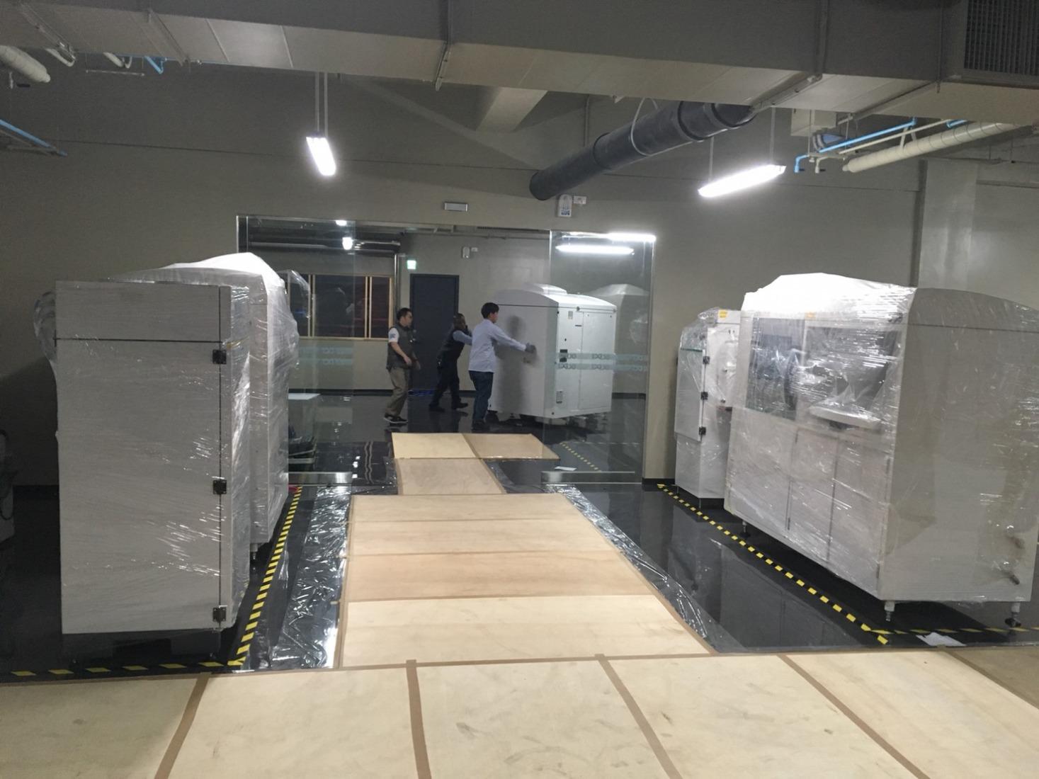 金屬am設備搬新家- 數可科技股份有限公司